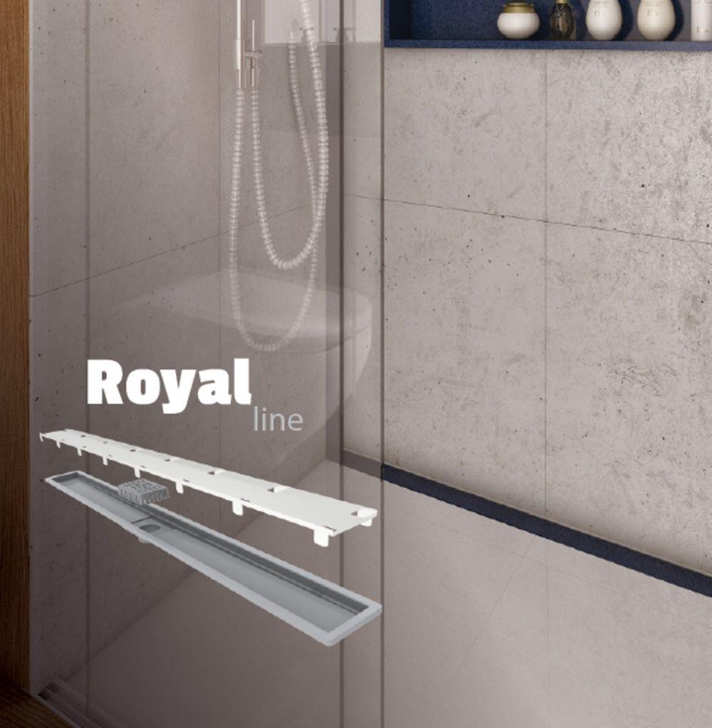Elleve Ralo Linear Royal Line - Tampa Oculta 100 cm