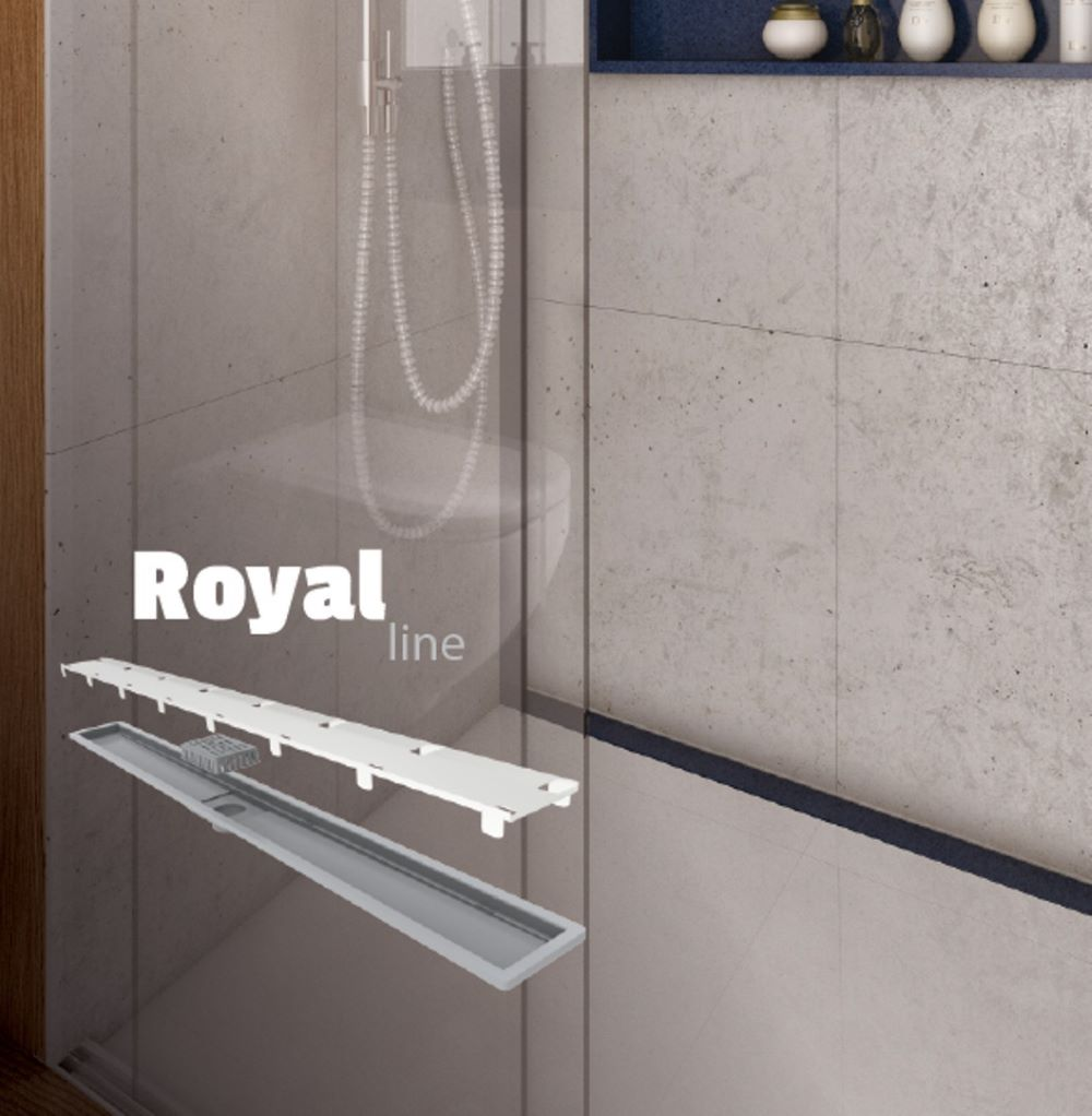 Elleve Ralo Linear  Royal Line - Tampa Oculta 80 cm