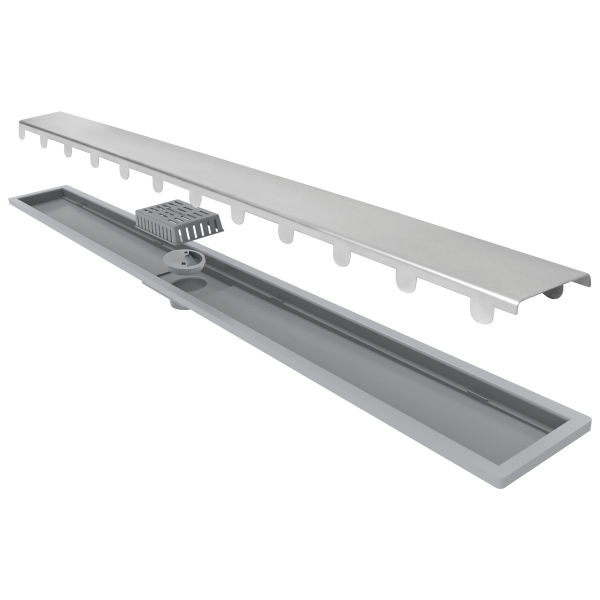 Elleve Ralo Linear Smart - Tampa Inox 70cm