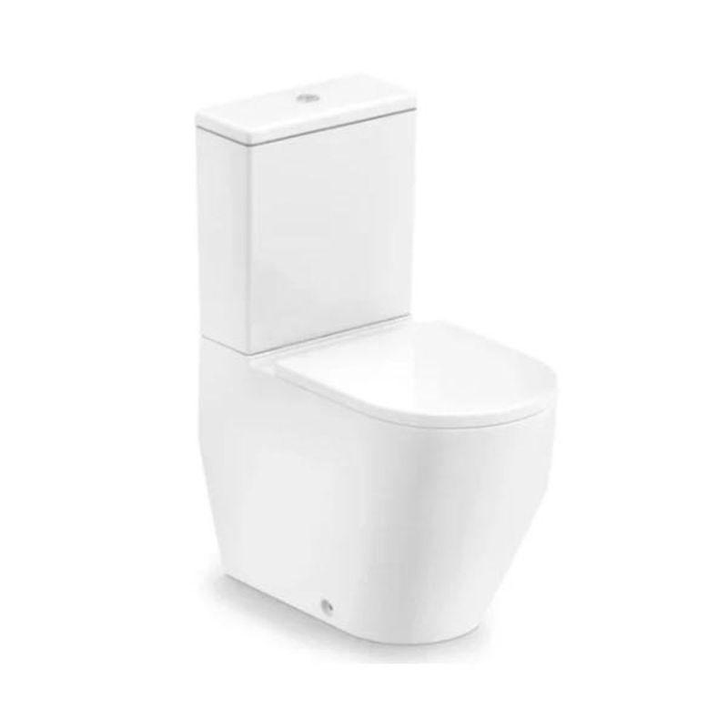 Kit Vaso Sanitário com Caixa Acoplada Roca Laufen Pro Branco Acionamento Duplo 3/6L