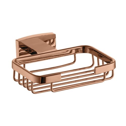 Porta Sabonete Acabamento Rose Gold - Linha Organic