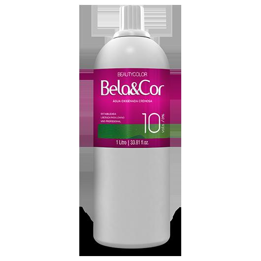 Água Oxigenada Cremosa - Beautycolor Bela&Cor 10 - 1l