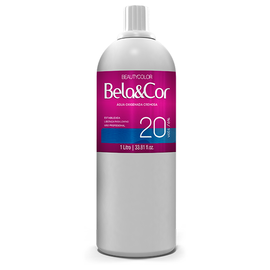 Água Oxigenada Cremosa - Beautycolor Bela&Cor 20 - 1l
