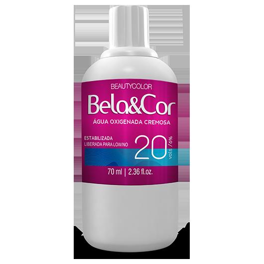 Água Oxigenada Cremosa - Beautycolor Bela&Cor 20 - 70ml