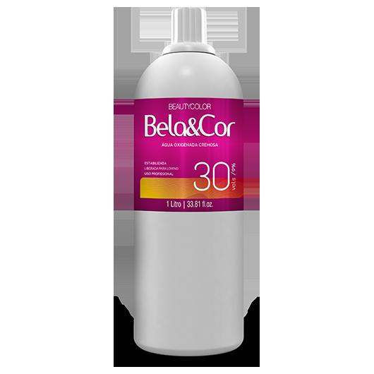 Água Oxigenada Cremosa - Beautycolor Bela&Cor 30 - 1l