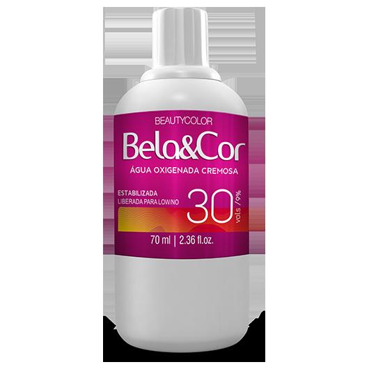 Água Oxigenada Cremosa - Beautycolor Bela&Cor 30 - 70ml