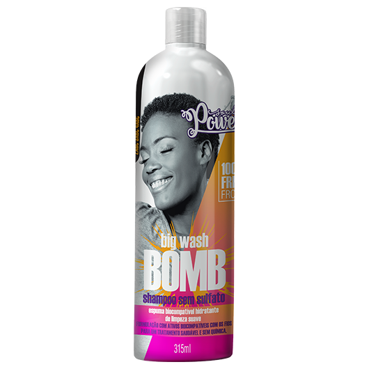 Big Wash Bomb - Shampoo Sem Sulfato Soul Power