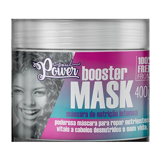 Booster Mask - Máscara de Nutrição Intensa Soul Power