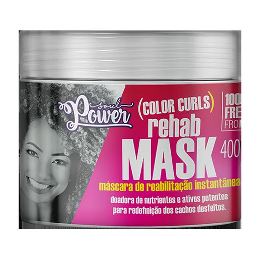 Color Curls Rehab Mask - Máscara de Reabilitação Soul Power