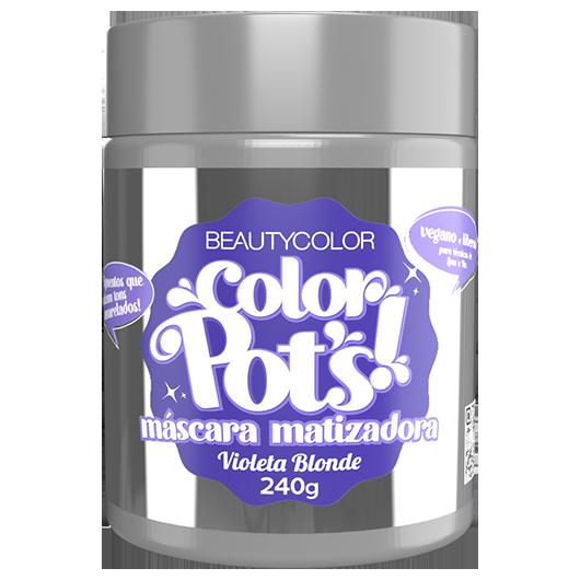 Color Pot's Máscara Matizadora - Violeta Blonde