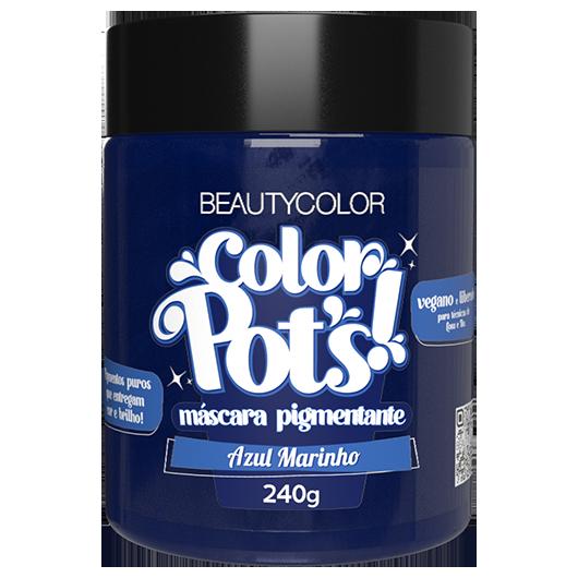 Color Pot's Máscara Pigmentante - Azul Marinho