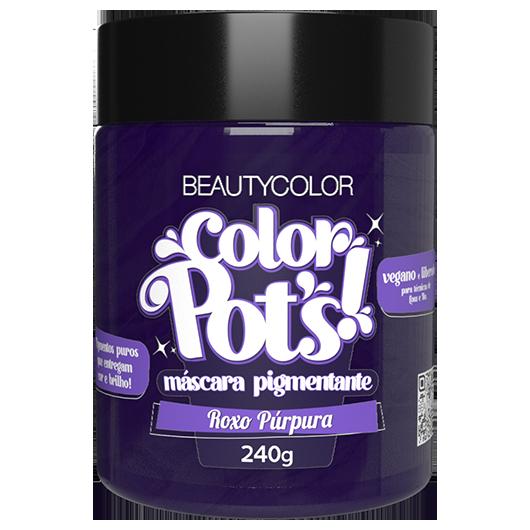 Color Pot's Máscara Pigmentante - Roxo Purpura