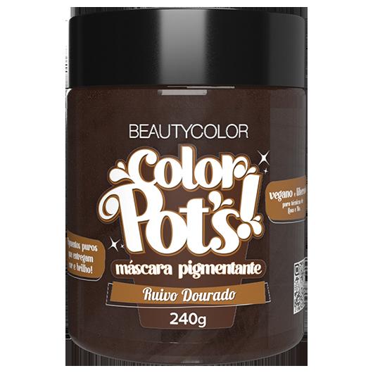 Color Pot's Máscara Pigmentante - Ruivo Dourado