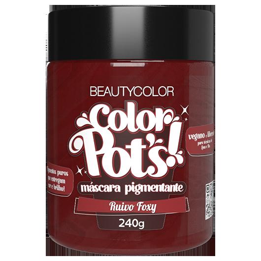 Color Pot's Máscara Pigmentante - Ruivo Foxy