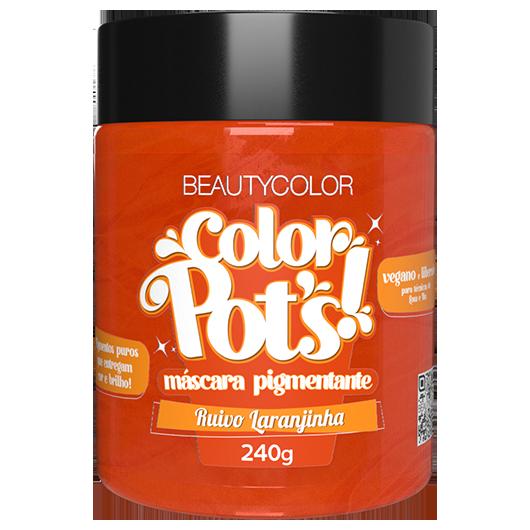 Color Pot's Máscara Pigmentante - Ruivo Laranjinha