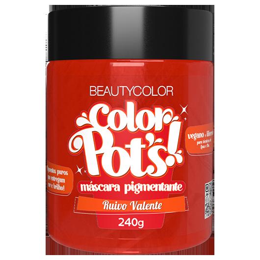Color Pot's Máscara Pigmentante - Ruivo Valente