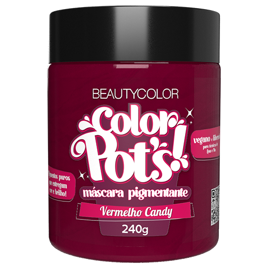 Color Pot's Máscara Pigmentante - Vermelho Candy