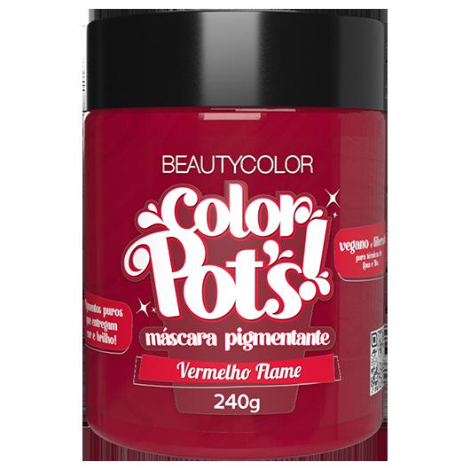 Color Pot's Máscara Pigmentante - Vermelho Flame