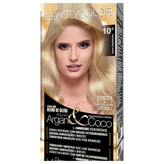 Coloração BeautyColor Permanente Kit - 10.0 Louro Claríssimo