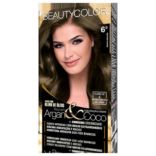 Coloração BeautyColor Permanente Kit - 6.0 Louro Escuro