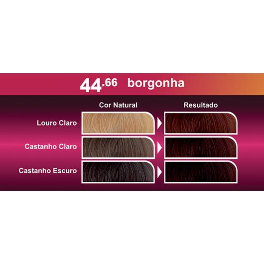 Coloração Bela&Cor Kit - 44.66 Borgonha