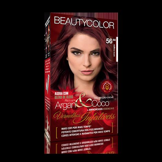 Coloração Permanente Kit Vermelhos Infalíveis  - 56.44 Ruivo Mogno