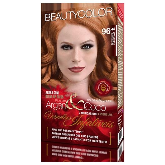 Coloração Permanente Kit Vermelhos Infalíveis  - 96.44 Ruivo Claro Indecifrável