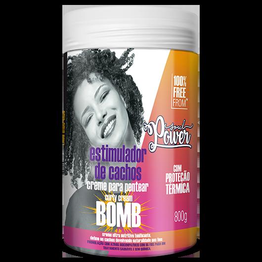 Curly Cream Bomb - Creme para Pentear Soul Power 800g