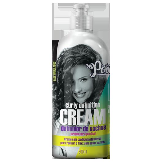 Curly Definition Cream - Creme para Pentear Soul Power 500ml