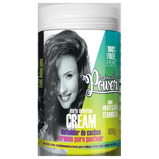 Curly Definition Cream - Creme para Pentear Soul Power 800g