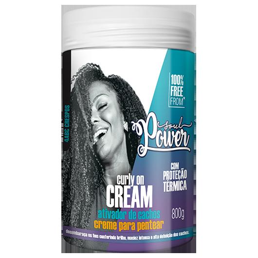 Curly On Cream - Creme para Pentear Soul Power 800g
