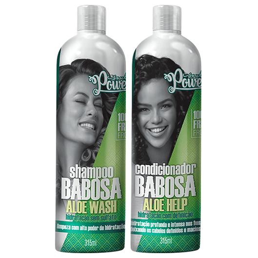 Kit Shampoo & Condicionador Babosa