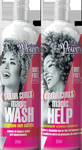 Kit Shampoo & Condicionador Color Curls
