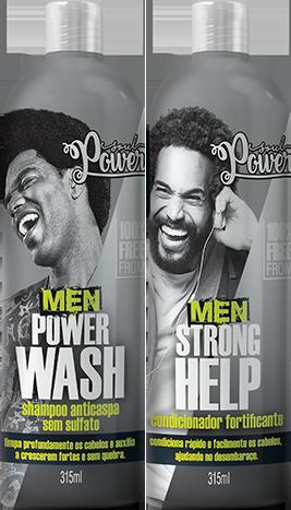 Kit Shampoo & Condicionador Soul Power Men