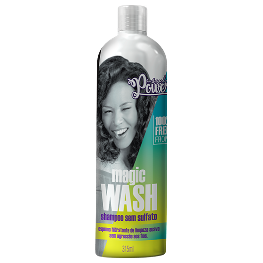 Magic Wash - Shampoo Sem Sulfato Soul Power