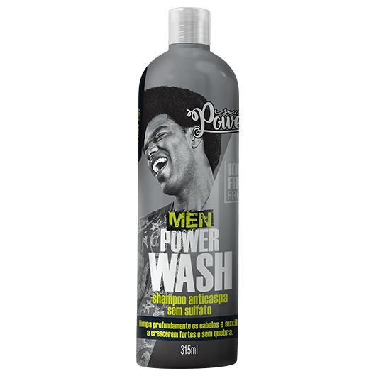 Men Power Wash - Shampo Anticaspa Soul Power