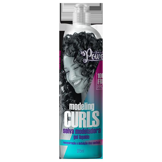 Modeling Curls - Gel Líquido Seiva Modeladora Soul Power