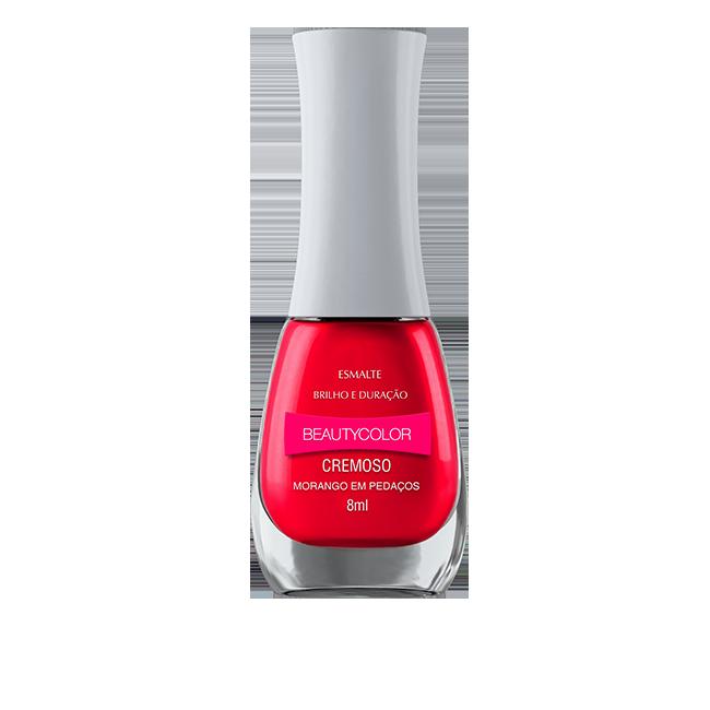 Morango em Pedaços - Esmalte Beautycolor