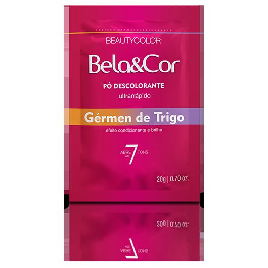 Pó Descolorante Gérmen de Trigo Bela&Cor 20g