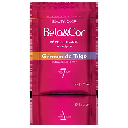 Pó Descolorante Gérmen de Trigo Bela&Cor 50g