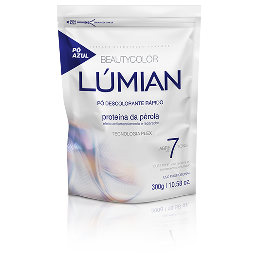 Pó Descolorante Proteína da Pérola Beautycolor Lúmian 300g