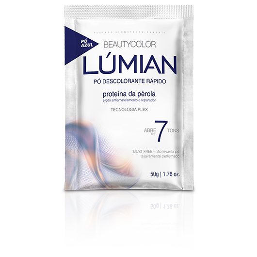 Pó Descolorante Proteína da Pérola Beautycolor Lúmian 50g