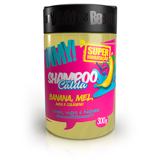 Shampoo em Calda de Banana