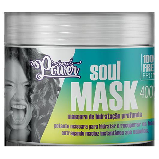 Soul Mask - Máscara de Hidratação Profunda Soul Power