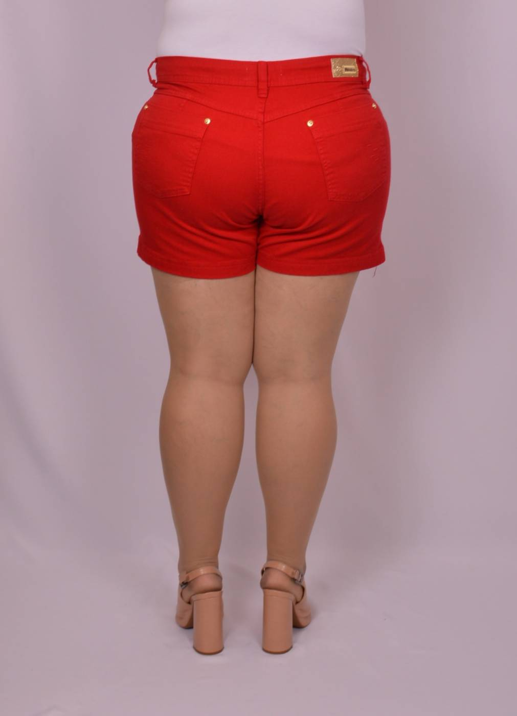 SHORT BRIM FEMININO PLUS SIZE