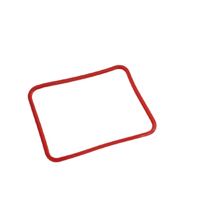 Borracha Manta Vedação Vermelha  - F-TEC Com de Produtos Gerais
