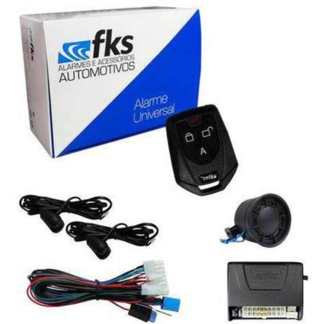 Alarme Automotivo FKS FK902 SB Plus C/ Sirene e 1 Controle