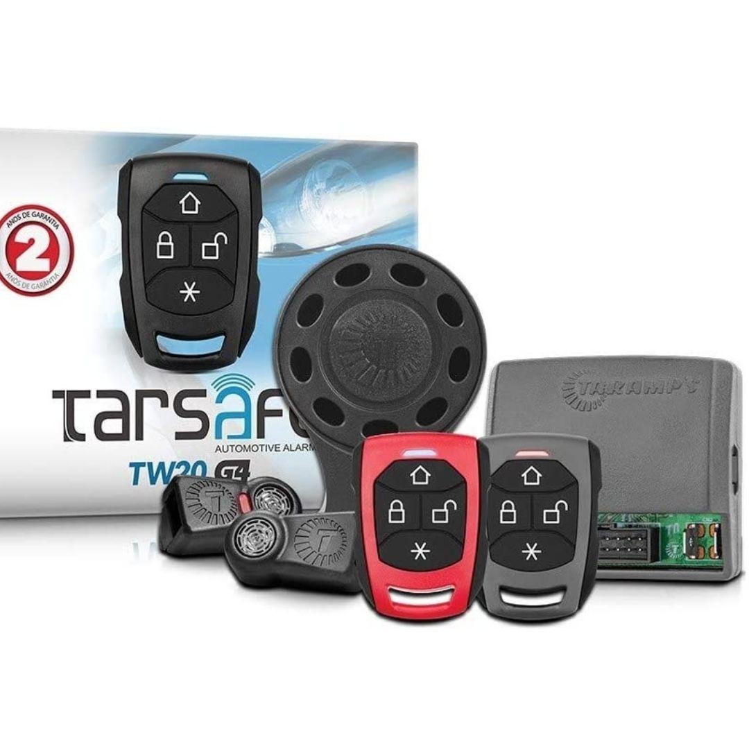 Alarme Automotivo Taramps TW20 G4 Com 02 Controles TR2