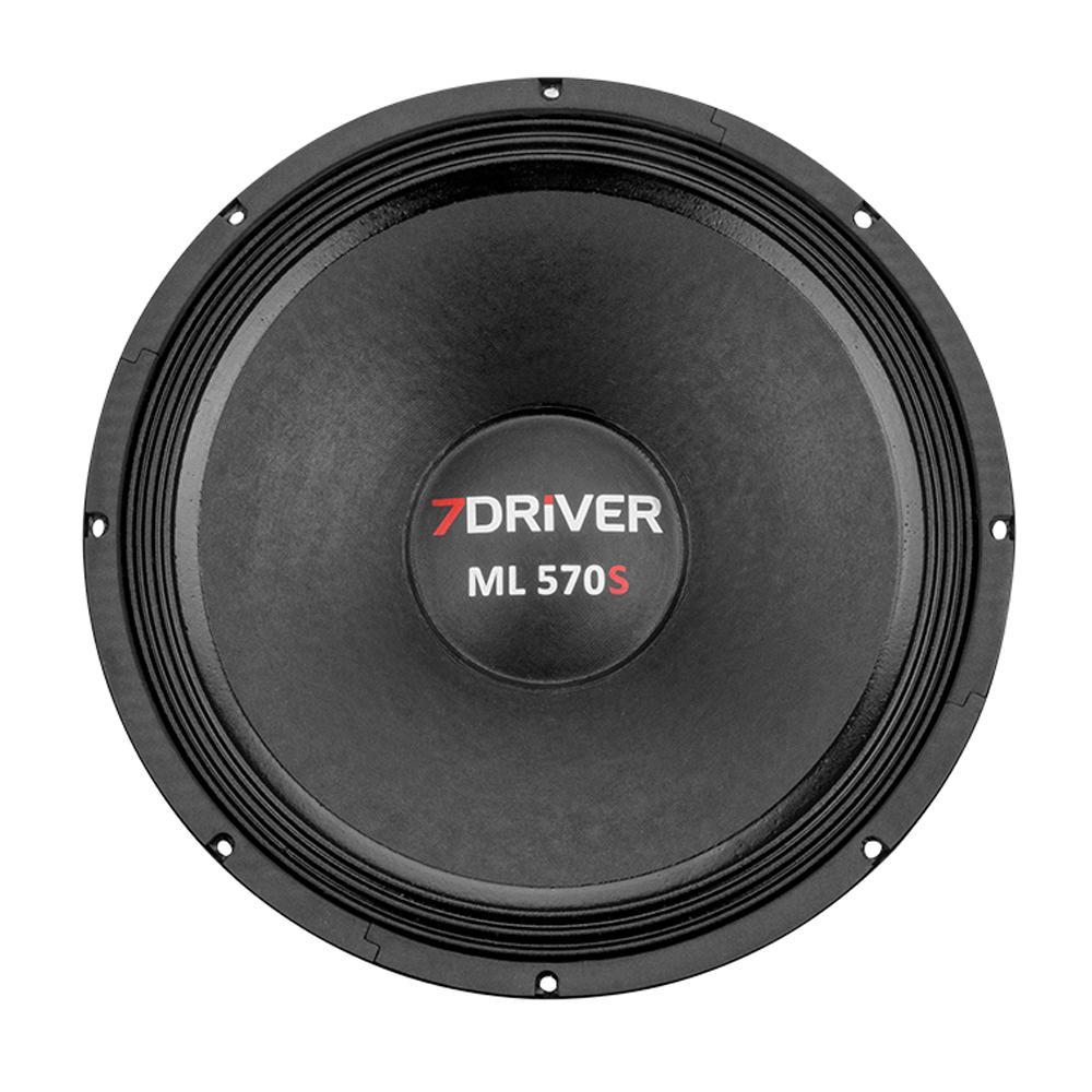 Alto Falante Woofer 7 Driver 15' ML 570S 570 Watts RMS