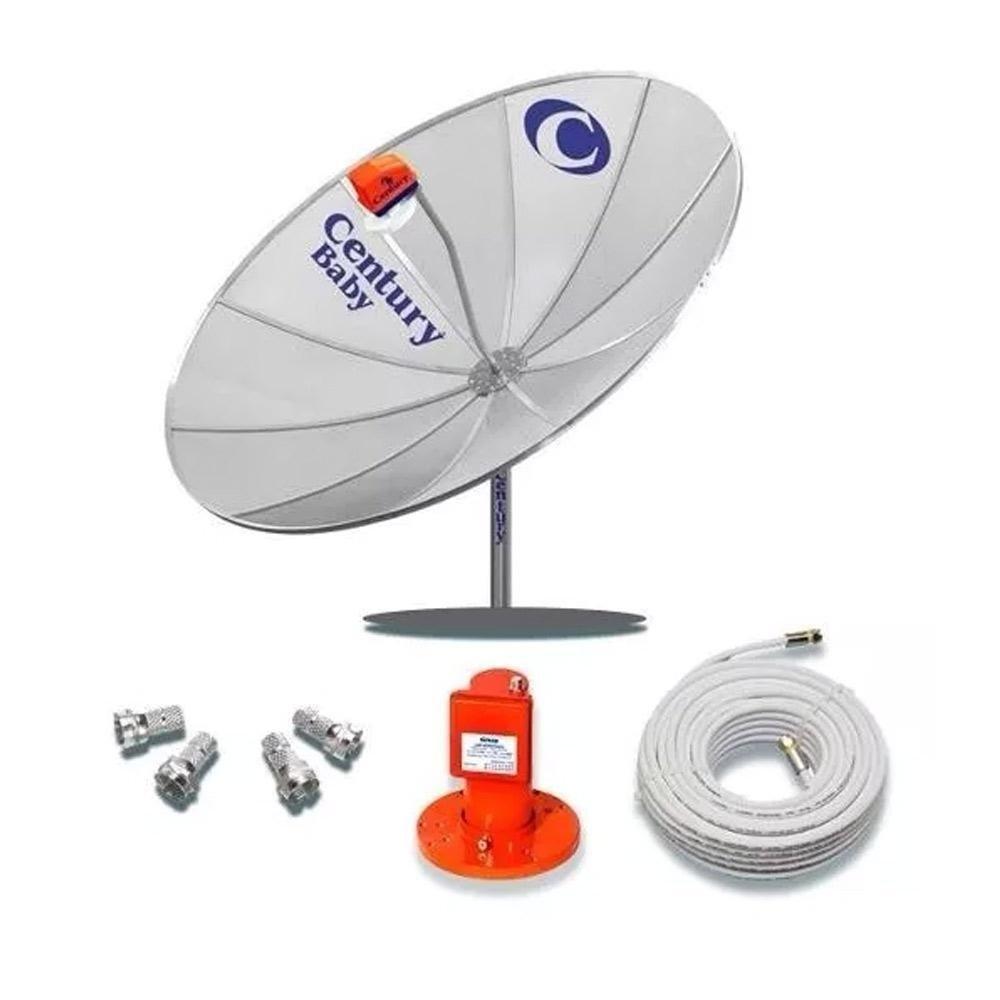 Antena Century 1.70M Multiponto Super Digital 17
